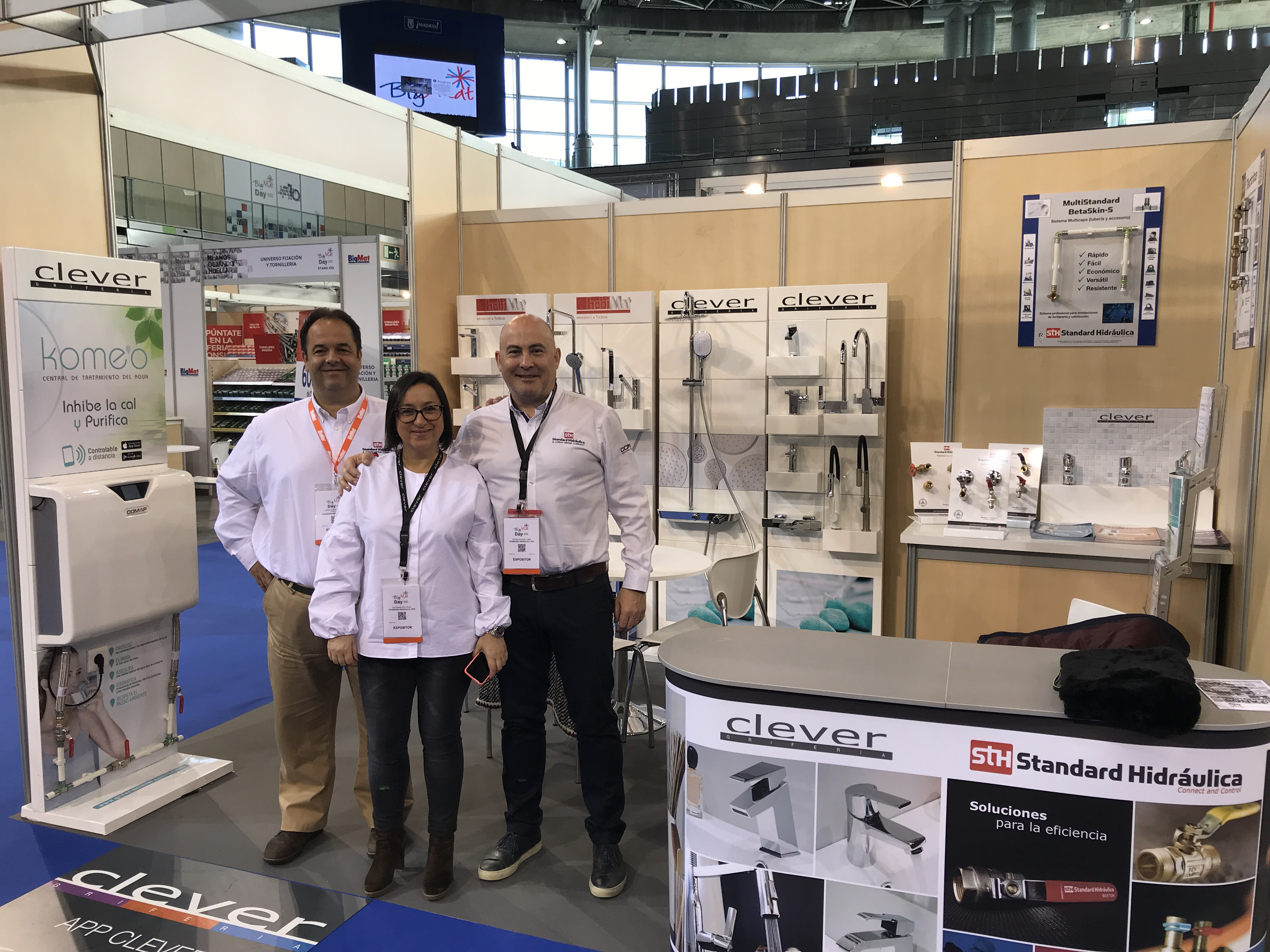 The company specialized in taps Clever will attend BigMat Day 2